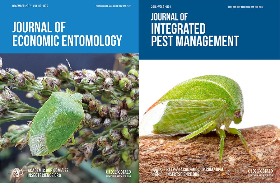 Journal of Economic Entomology and Journal of Integrated Pest Management, now seeking new editors-in-chief.