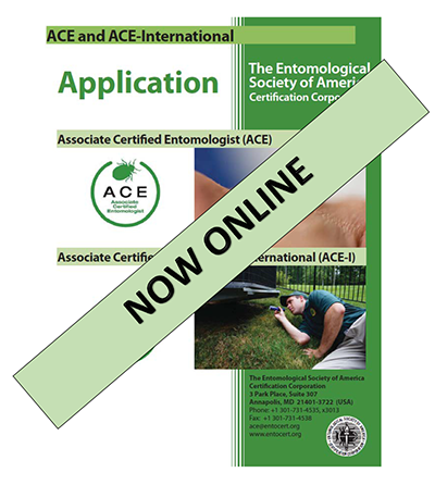 Associate Certified Entomologist - Application Now Online