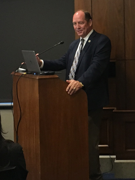 Rep. Ted Yoho at the ESA AIPM Briefing on Capitol Hill