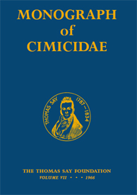 Monograph of Cimicidae - The definitive book on bed bugs